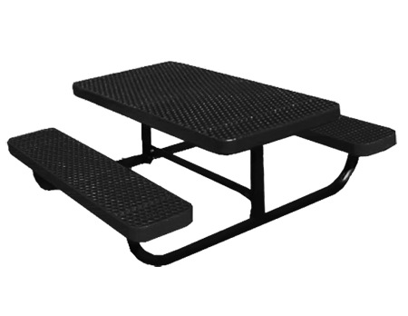 Champion Style Expanded Metal Table For Children