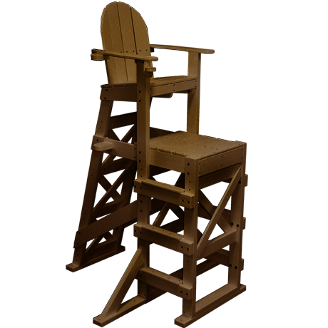 Tall Lifeguard Chair With Side Steps