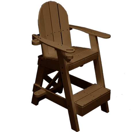 Lifeguard Chair With Front Step