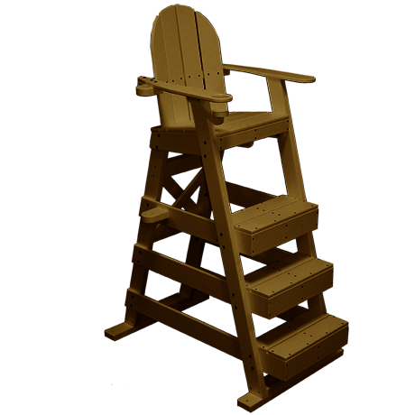 Lifeguard Chair With Front Steps