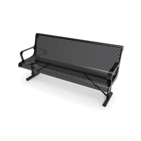 Rivendale Contour Bench with Back and Arm