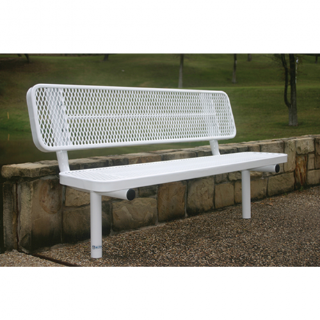 4' Rivendale Player's Bench With Back