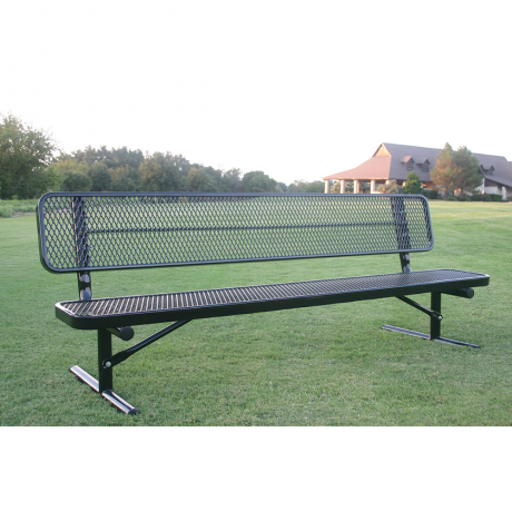 Lexington Player's Bench with Back