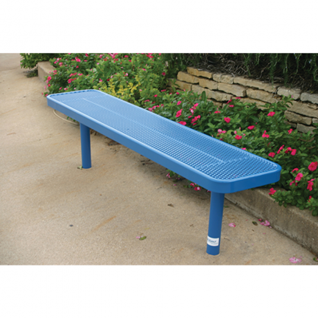 4' Lexington Player's Bench Without Back