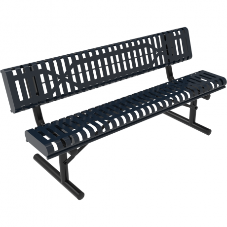 Rivendale Rolled Bench with Back