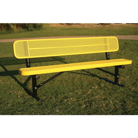 Rivendale Rectangular Bench with Back