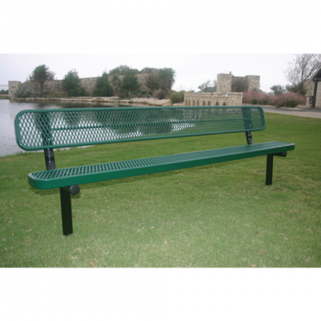 4' Rivendale Bench With Back