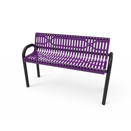 4'  Rivendale MOD Bench with Back