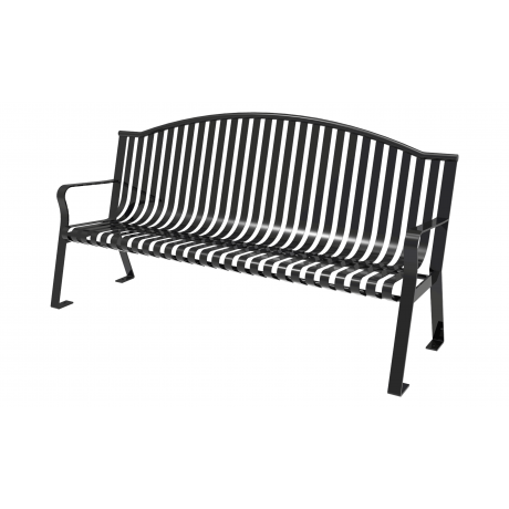 Lexington Skyline Bench with Arched Back