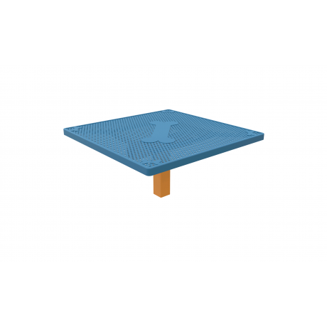 Square Grooming Table