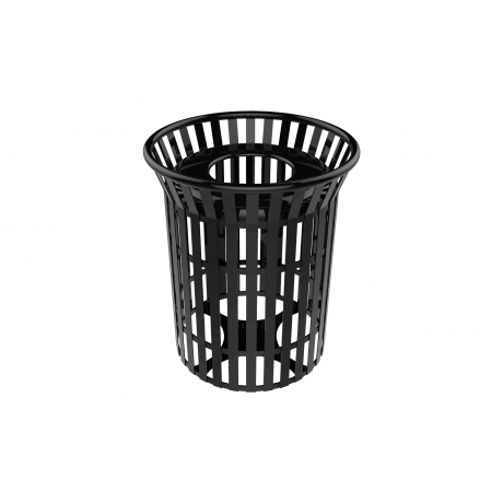 32 Gallon Skyline Trash Receptacle With Flared Top