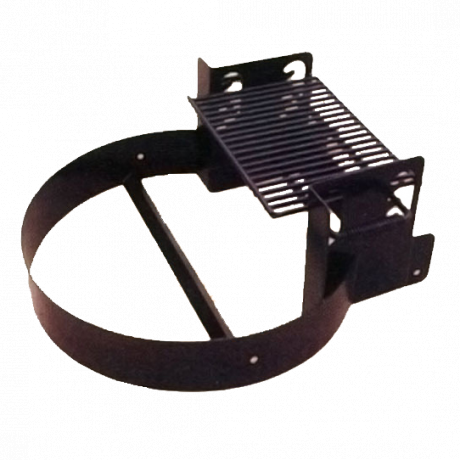 Fire Ring with Adjustable 4-Position Cooking Grate