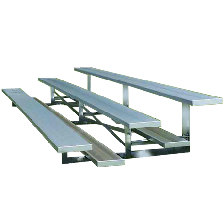 3 Row Low Rise Non-Elevated with Aluminum Frame