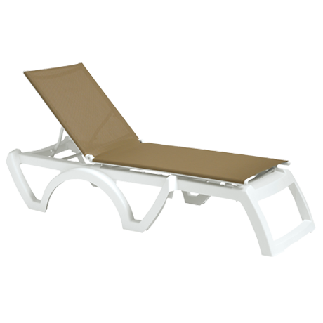 Calypso Adjustable Sling Chaise Lounge without Arms