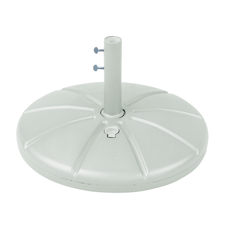 """Resin Umbrella Base With Filling Cap And 10"""" Stem"""