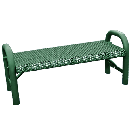 Grand Contour Expanded Metal Flat Bench