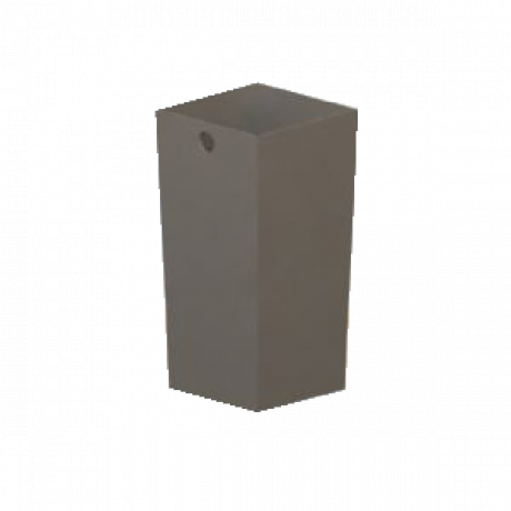 Liner for Square Concrete Trash Containers