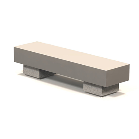 Sumo Concrete Bench