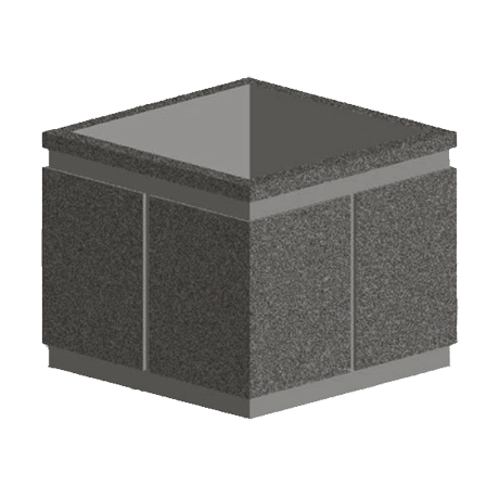 SP Series 36x30 Square Concrete Planter