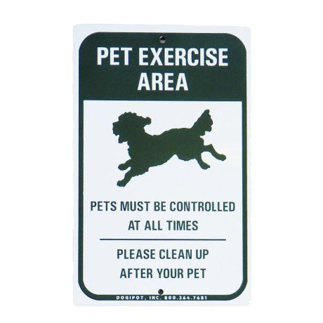 Off Leash Sign