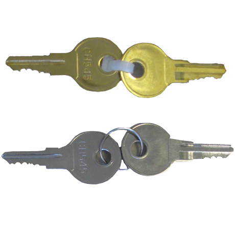 Replacement Lock With 2 Keys
