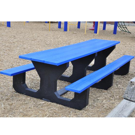 Recycled Plastic Kids Picnic Table - Toddler Size