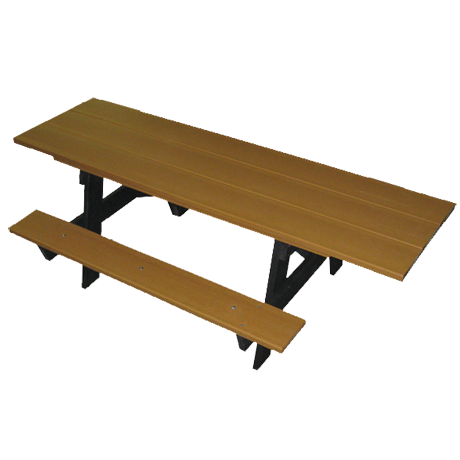 6' A-Frame ADA Recycled Plastic Picnic Table
