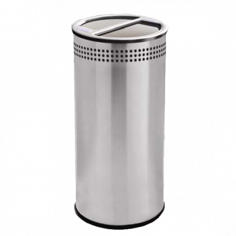 Precision Round Steel Recycler Container