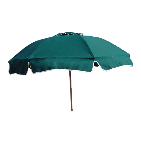 Sunny Baker Julington Beach Concession Umbrella with Ash Wood Pointed Pole
