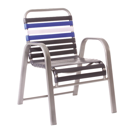 Bonaire Single Strap Stackable Dining Chair