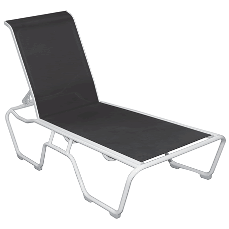Lido Sling Stackable Chaise Lounge