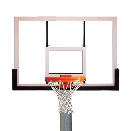 Complete Gooseneck Playground Packages, Backboard-Rim-Net and Pole Included