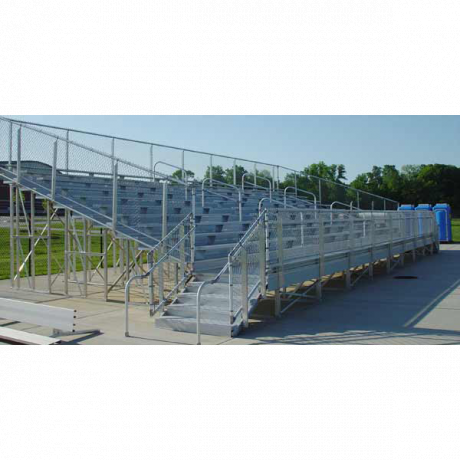 10 Row Elevated Bleachers (W/O Handicap Seating)