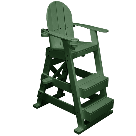 Lifeguard Chair With 2 Front Steps