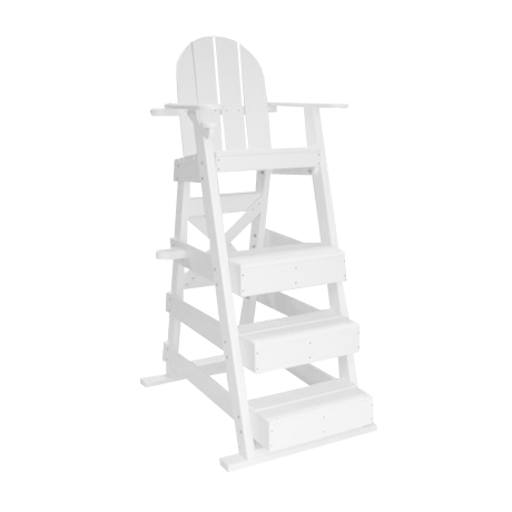 Lifeguard Chair With 3 Front Steps