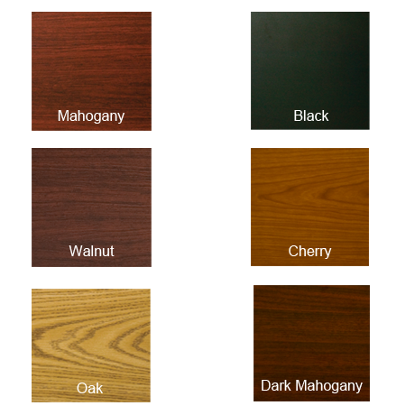 """Double Sided Laminate Indoor Table Top, 24 x 24"""""""