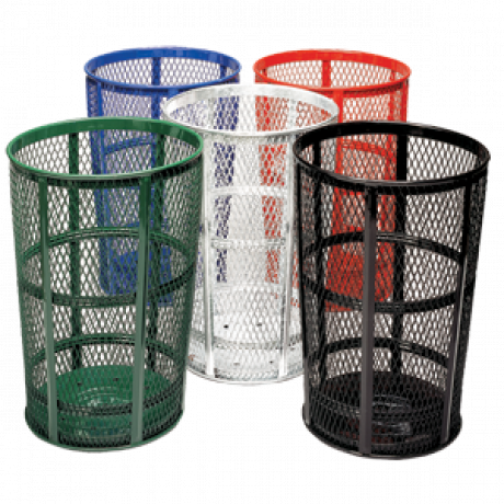 Expanded Metal Outdoor Container
