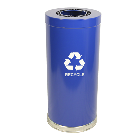 "Emoti-Can 15"" Diameter Recycling Container"
