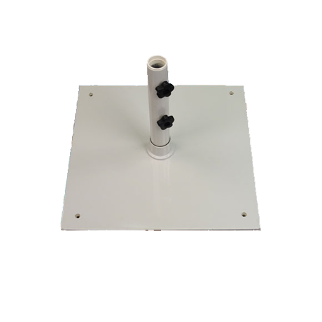 Steel Plate Umbrella Base with Wheels