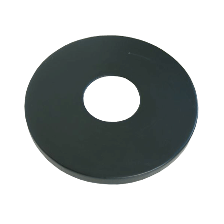 """Round Flat Lid with 8"""" Hole"""