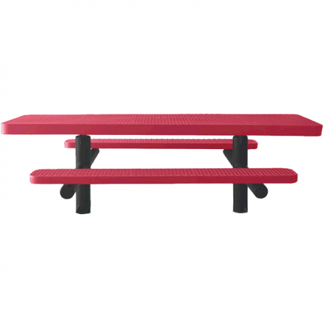 Champion Series ADA Accessible Rectangle Picnic Table - Double Pedestal