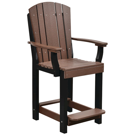 Counter Heigh Patio Chair