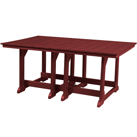 """44"""" x 72"""" Dining Height Table"""