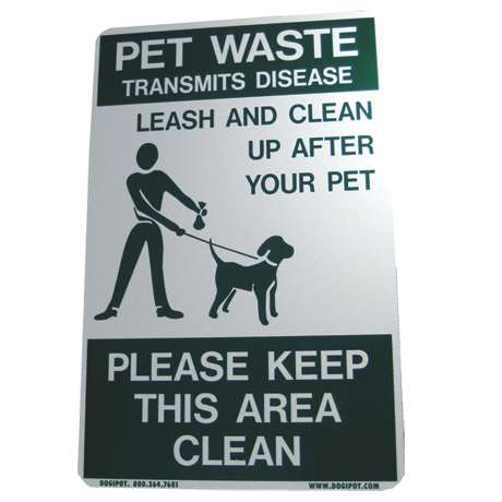 On Leash Sign