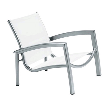 South Beach Relaxed Sling Spa Chair
