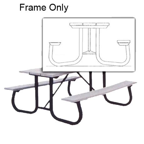 commercial picnic table frames