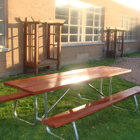 Steel Framed Picnic Tables - Commercial Grade Picnic Tables