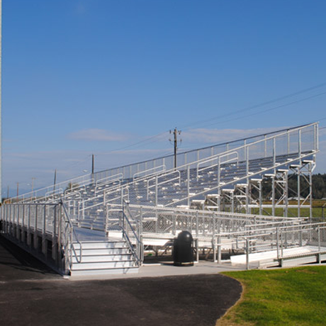 Stadium Bleachers for Small to Medium Crowds