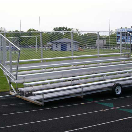 Transportable Non-Elevated Bleachers