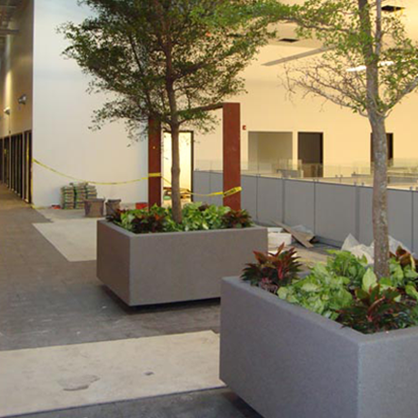 Lightweight & Durable Fiberglass Planters